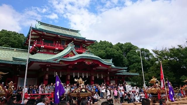 富岡八幡宮例大祭2017