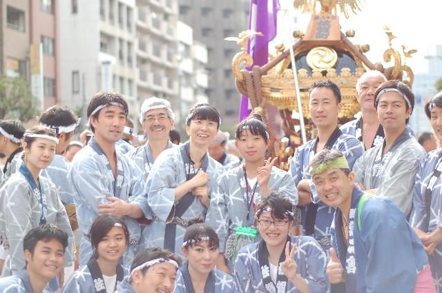 江東区合気会と祭り