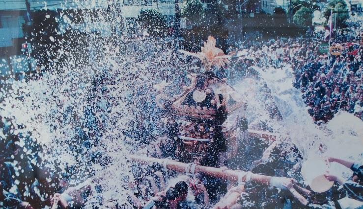1996年の水かけ祭り