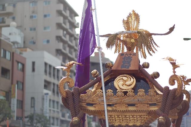 佐賀町の御神輿